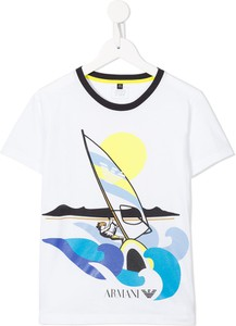 Koszulka dziecięca Emporio Armani Kids