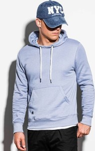 Niebieska bluza Ombre w młodzieżowym stylu