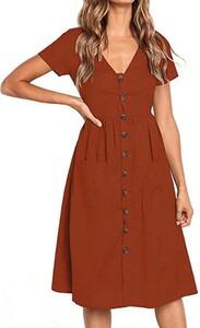 Sukienka Arilook szmizjerka na ramiączkach