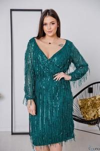 Niebieska sukienka tono.sklep.pl