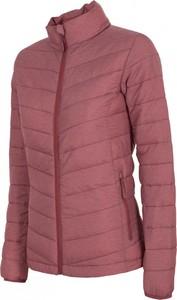 Różowa kurtka outhorn w stylu casual