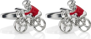 Dastan Spinki do mankietów Red Bicycles