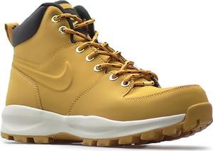 Buty zimowe Nike ze skóry ekologicznej