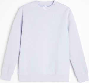 Fioletowa bluza Reserved w stylu casual
