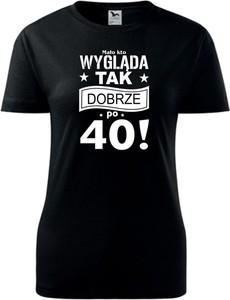 Czarny t-shirt TopKoszulki.pl