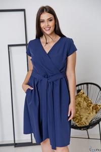 Niebieska sukienka tono.sklep.pl w stylu casual