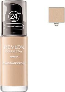 Revlon, ColorStay, podkład do cery mieszanej i tłustej z kompleksem SoftFlex, z pompką, 200 Nude, 30 ml