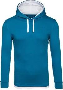 Niebieska bluza Denley w street stylu