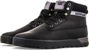 Czarne buty zimowe Caterpillar