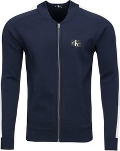 Granatowa bluza Calvin Klein z bawełny