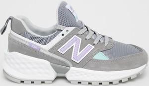 Sneakersy New Balance sznurowane z płaską podeszwą