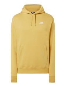 Żółta bluza Nike w młodzieżowym stylu z bawełny