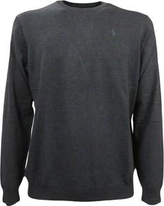 Czarny sweter Refrigue z wełny w stylu casual