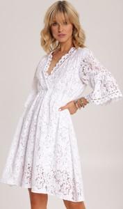 Sukienka Renee z długim rękawem rozkloszowana mini