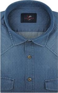 Koszula Viadi Polo z długim rękawem z bawełny