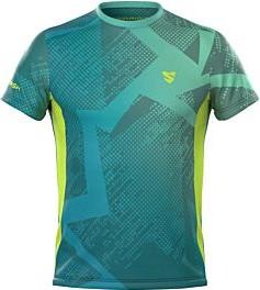 T-shirt Smmash z tkaniny z krótkim rękawem