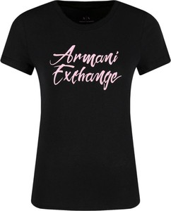 Czarny t-shirt Armani Jeans