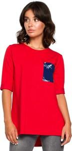 Czerwona bluzka MOE