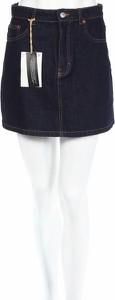 Granatowa spódnica Pull&Bear mini