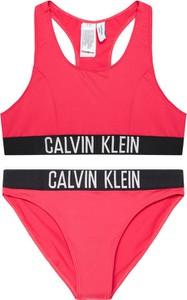 Różowy strój kąpielowy Calvin Klein