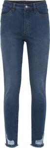 Niebieskie jeansy bonprix w stylu casual