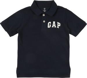 Granatowa koszulka dziecięca Gap z krótkim rękawem