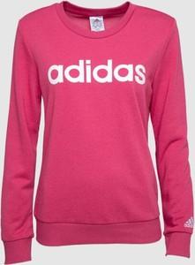 Różowa bluza Adidas w sportowym stylu
