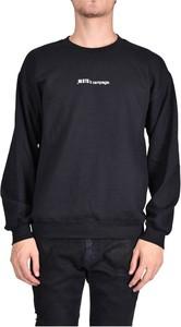 Czarna bluza Paura z bawełny w młodzieżowym stylu