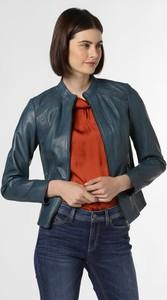 Niebieska kurtka Caminari w stylu casual krótka