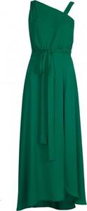 Zielona sukienka VISSAVI bez rękawów midi