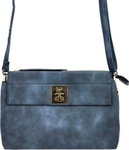 f841abc012cf4 niebieska torebka listonoszka - stylowo i modnie z Allani