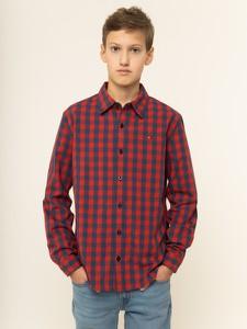 Czerwona koszula dziecięca Tommy Hilfiger
