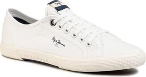 Tenisówki PEPE JEANS - Aberman Smart PMS30625 White 800