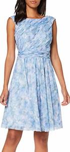 Sukienka amazon.de z okrągłym dekoltem mini rozkloszowana