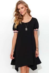 Sukienka Makadamia z krótkim rękawem mini z bawełny