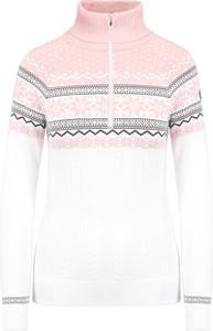 Sweter Newland w stylu casual z żakardu