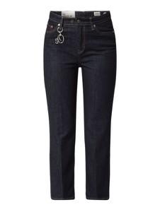 Granatowe jeansy S.Oliver Red Label z bawełny