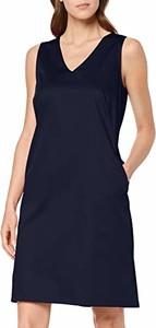 Sukienka amazon.de z dekoltem w kształcie litery v bez rękawów
