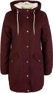 Czerwona kurtka Q/s Designed By - S.oliver z bawełny