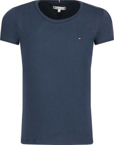 Niebieska koszulka dziecięca Tommy Hilfiger