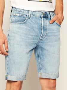 Spodenki Lee z jeansu w stylu casual