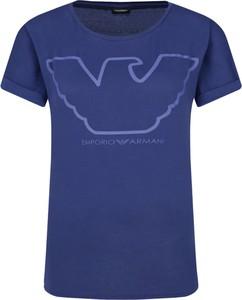 T-shirt Emporio Armani z nadrukiem w stylu casual