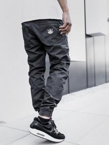 Granatowe jeansy Jigga Wear
