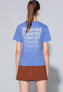 Fioletowy t-shirt LOCAL HEROES z bawełny w młodzieżowym stylu z krótkim rękawem