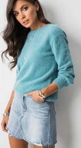 Spódnica Fashion Manufacturer mini z jeansu