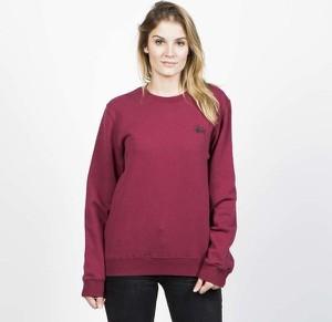 Różowa bluza Stussy krótka w młodzieżowym stylu