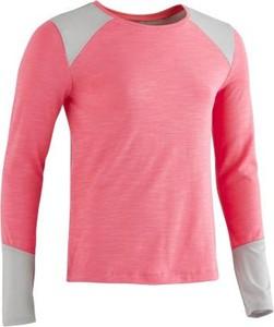 Różowa koszulka dziecięca Domyos
