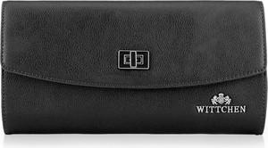 Czarna torebka Wittchen ze skóry matowa