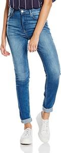 Niebieskie jeansy amazon.de z jeansu w młodzieżowym stylu