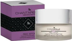 CHANTARELLE, krem na noc przeciw zaczerwienieniom, 50 ml, RED STOP